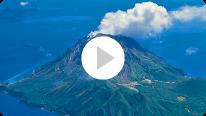 国土交通省 気象庁 薩摩硫黄島(岩ノ上) 監視カメラ画像