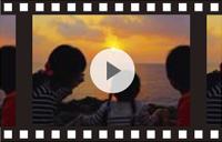 黒島片泊の夕日
