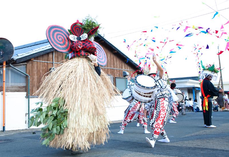 ユネスコ無形文化遺産 硫黄島八朔踊り仮面神「メンドン」
