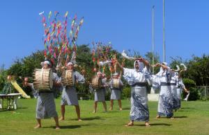 黒島の盆踊り【鹿児島県指定文化財/無形民俗文化財】(黒島片泊)