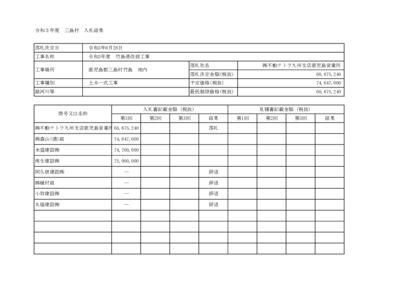 入札結果(R3.6.28)のサムネイル